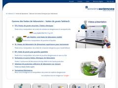 A1 Safetech sorbonnes de laboratoire