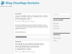 Un blog pour votre eau chaude sanitaire