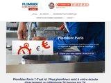 Plombier Paris à votre service