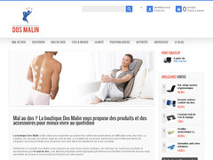 Préserver votre dos avec DosMalin.fr