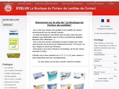 Lentilles de contact moins chères Eyelux
