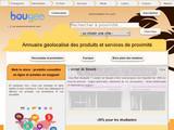 Bougeo.fr : Boutiques Géolocalisées
