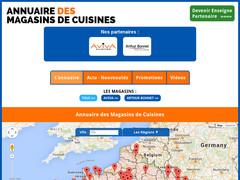 Annuaire des magasins de cuisines