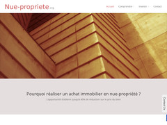 Immobilier en nue propriété