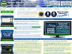 Options binaires forex pour trader en ligne