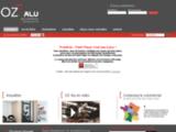 Oz Alu : cloison amovile et de bureau