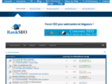 RankSeo.fr le forum des webmasters