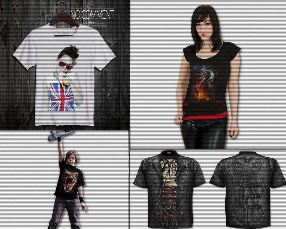 tshirts fantasy originaux