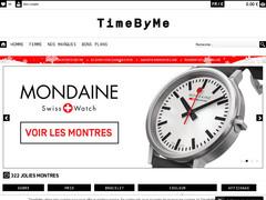 Montres design de qualité, TimeByMe