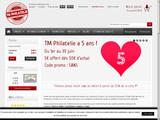 TM Philatélie : vente de timbre pas cher