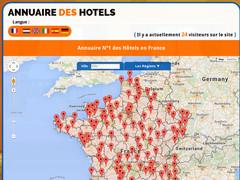 annuaire des hotels