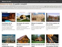 Le guide de la maison en bois